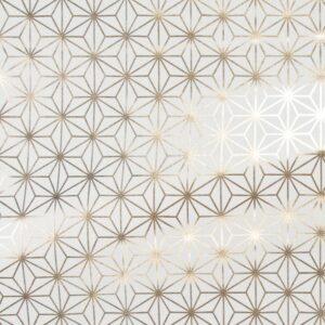 Géométrique or x 10cm