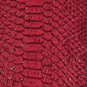 simili cuir rouge