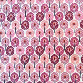 mini plume de paon rose