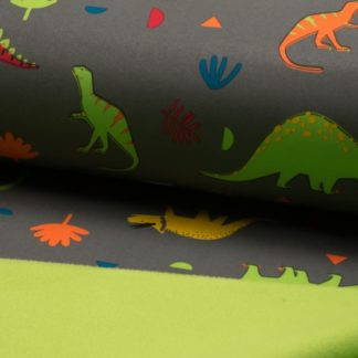 Softshell dinosaure gris
