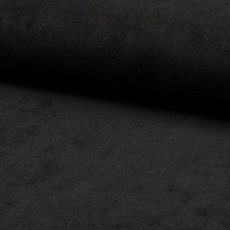 Velours côtelé fin noir