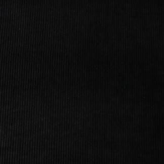 velours côte épais noir
