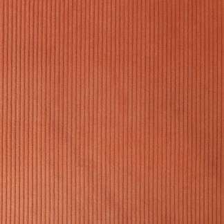 velours côte épais orange
