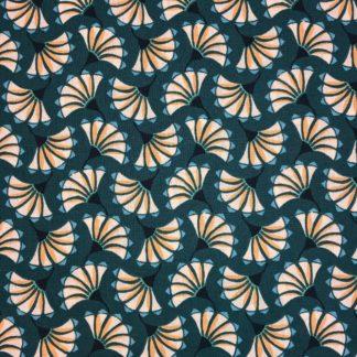 coton azahe émeraude turquoise