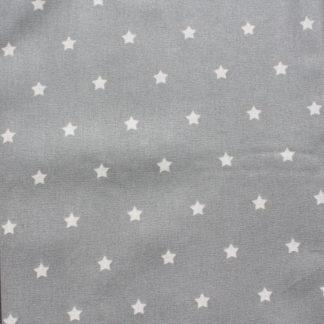 Étoiles fond gris