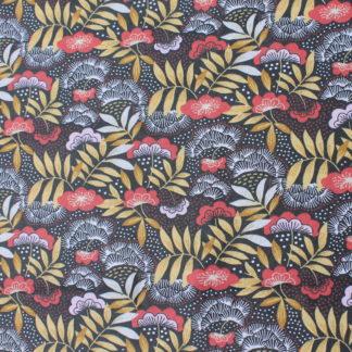 Coton fleurs et feuillage
