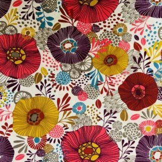 Fleurs roses et multicolores