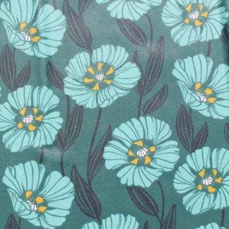 Fleurs vert d'eau