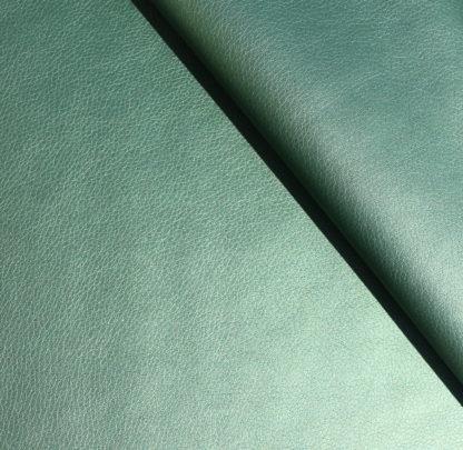 simili cuir irisé vert