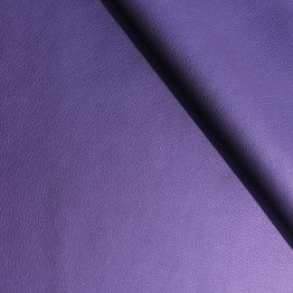 Simili cuir irisé violet