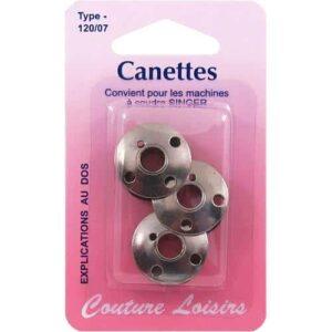 canettes pour machine singer