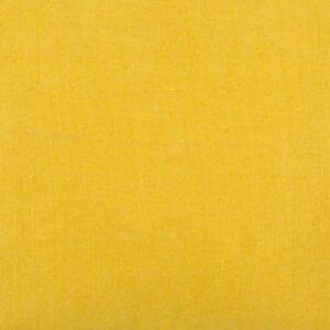coton uni jaune moutarde