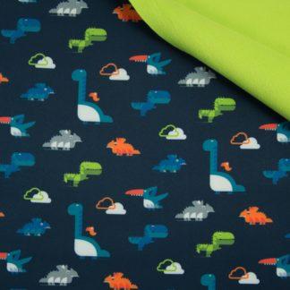 softshell dinosaures fond marine