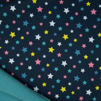 Softshell étoiles avec fond marine