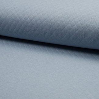 tissu matelassé bleu