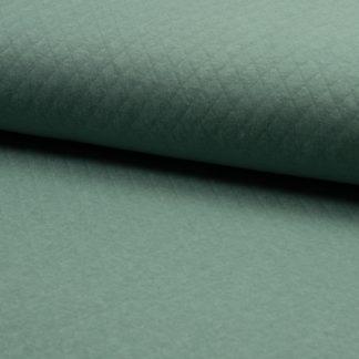 tissu matelassé vert
