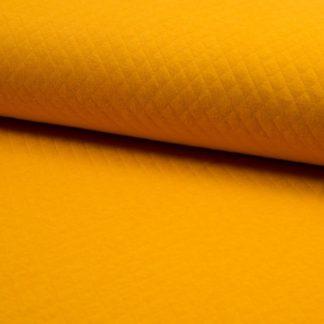 tissu matelassé jaune