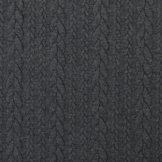 tissu-torsade-gris-fonce
