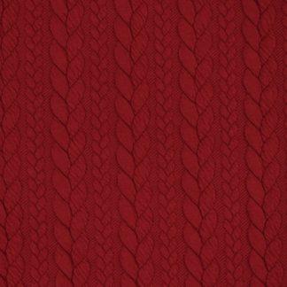 tissu-torsade-rouge