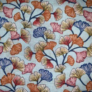 fleur ginkgo multicolore