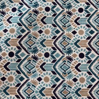 Coton Aztèques blue