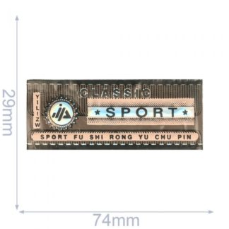 Ecusson Sport