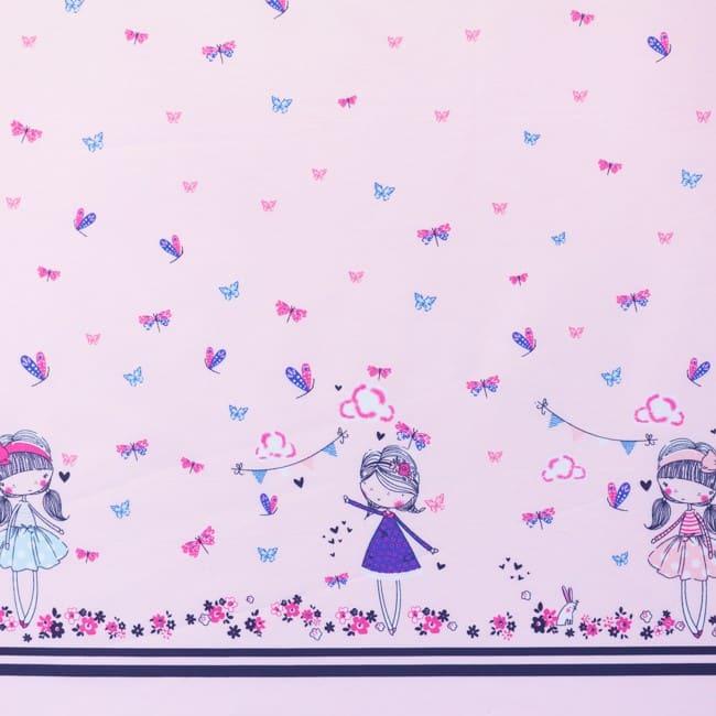Popeline-Imprimé-Fleuriste-Rose